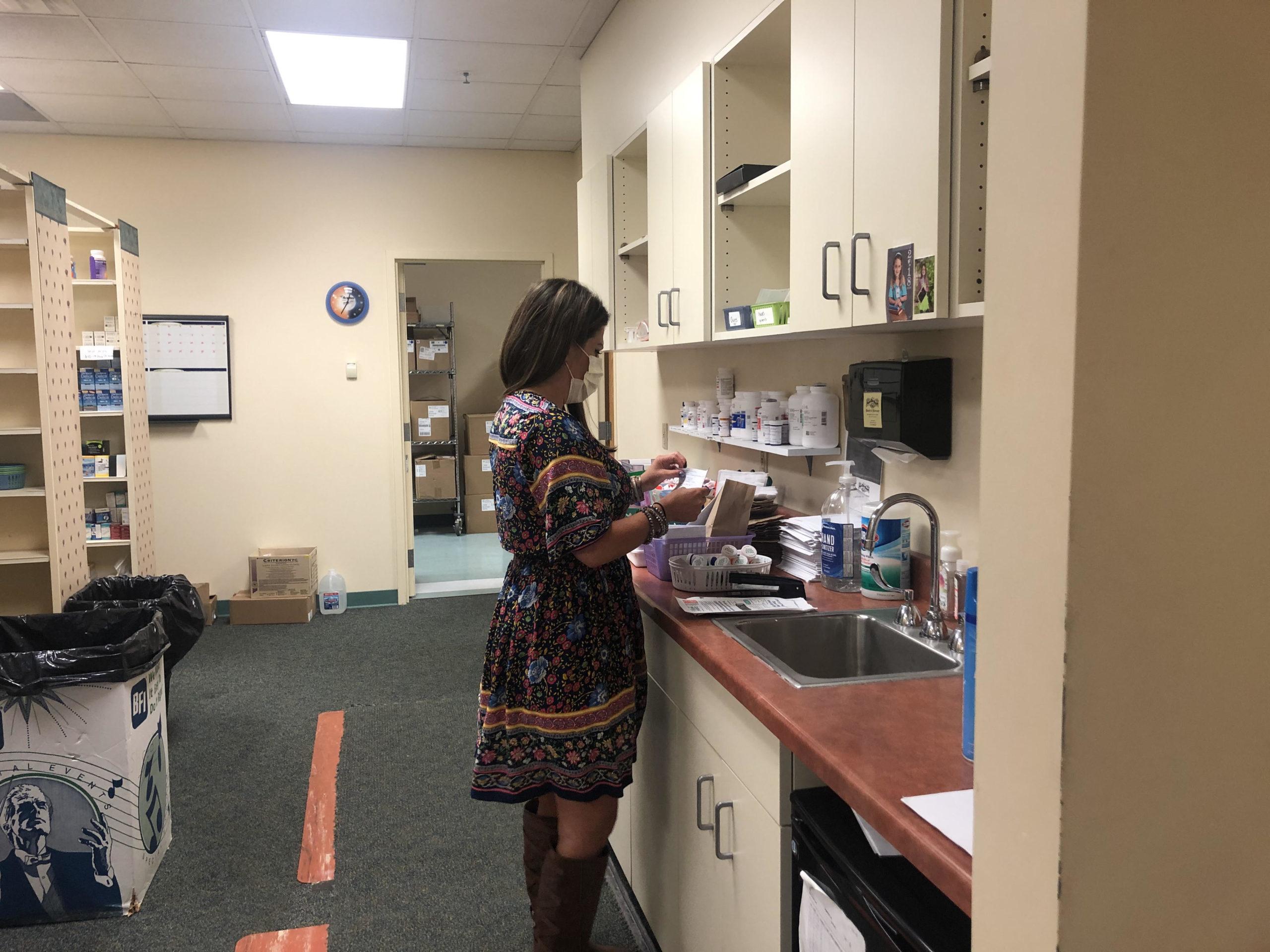 Brenna in Pharmacy