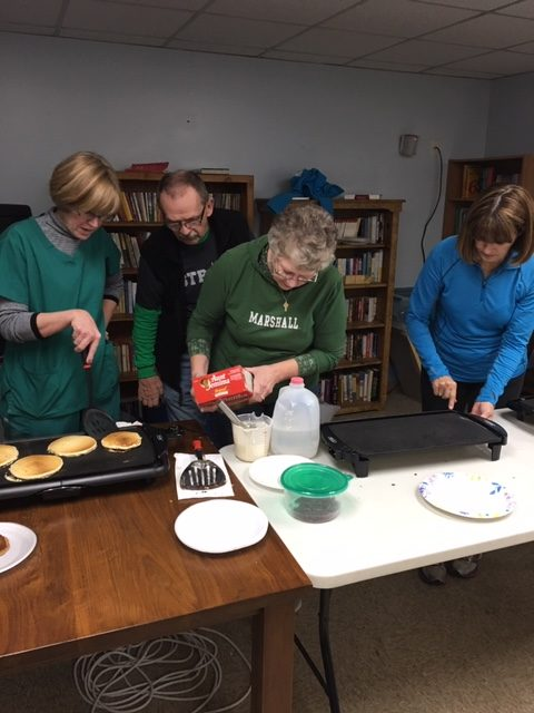 Volunteering with Harmony House